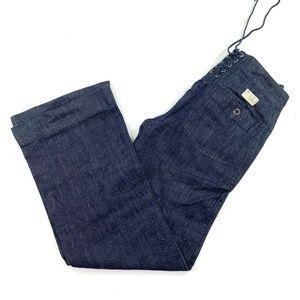 Ralph Lauren 27 Jeans Wide Leg Lace Back RLFC